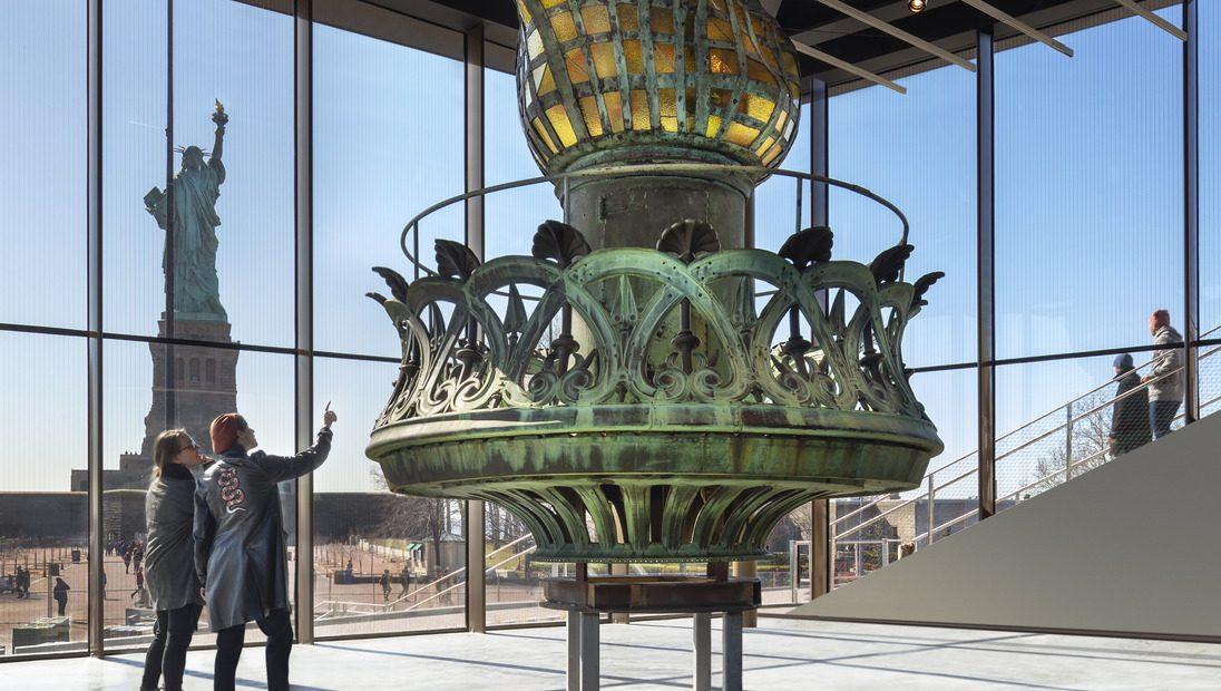 Photo of Um tour fotográfico do novo Museu da Estátua da Liberdade – Quartzy
