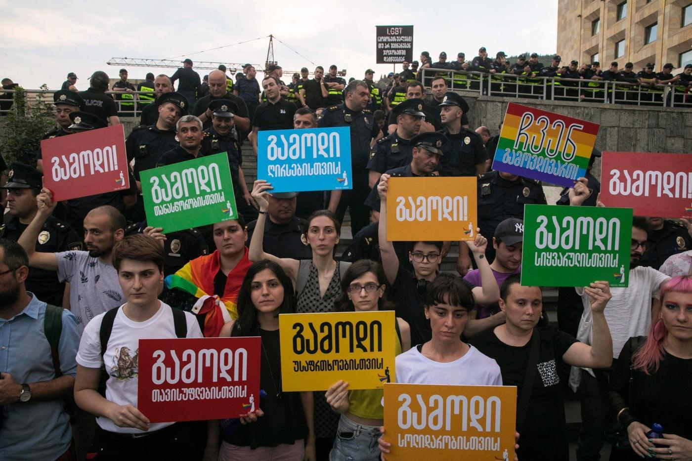 Photo of Onde a primeira marcha está ocorrendo para o orgulho da Geórgia – Quartz