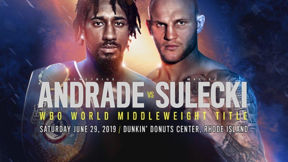 Photo of Como assistir Andrade vs Sulecki: transmissão ao vivo do boxe de hoje à noite de qualquer lugar