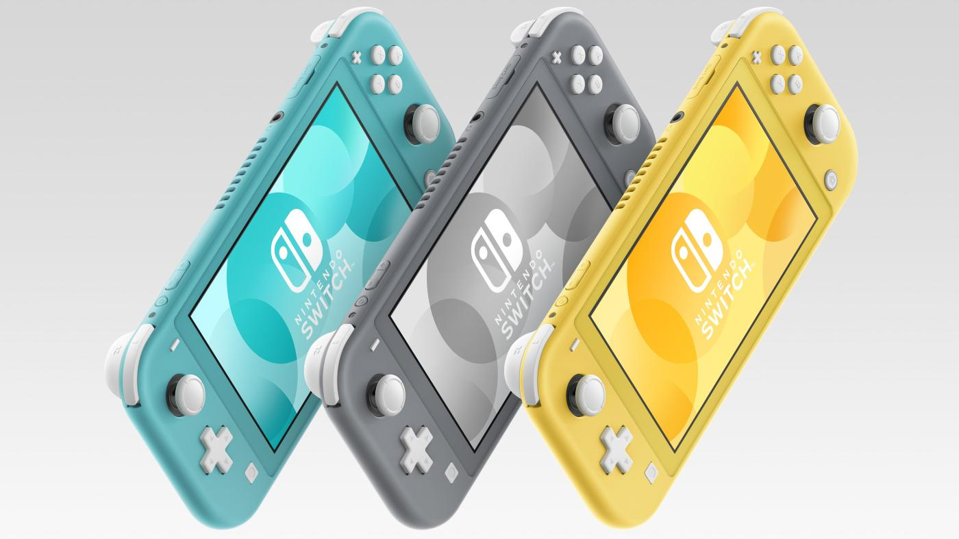 Photo of O Nintendo Switch Lite é um console portátil exclusivamente mais barato, o Quartz