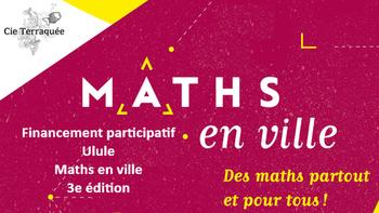 Photo of Matemática na cidade 3ª edição: participe!
