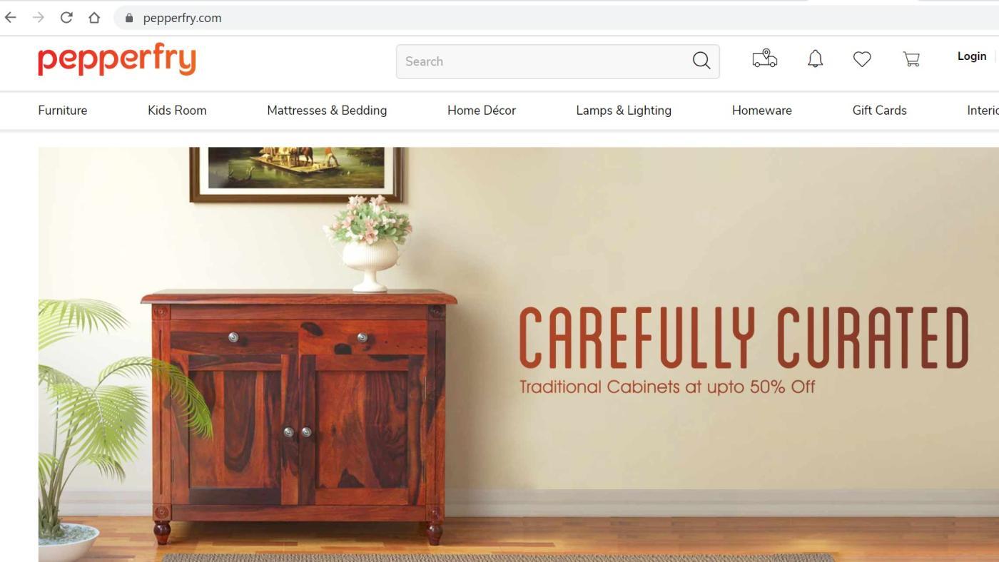 Foto de Pepperfry, empresa indiana de comércio eletrônico de móveis, busca lucro, IPO – Quartz India