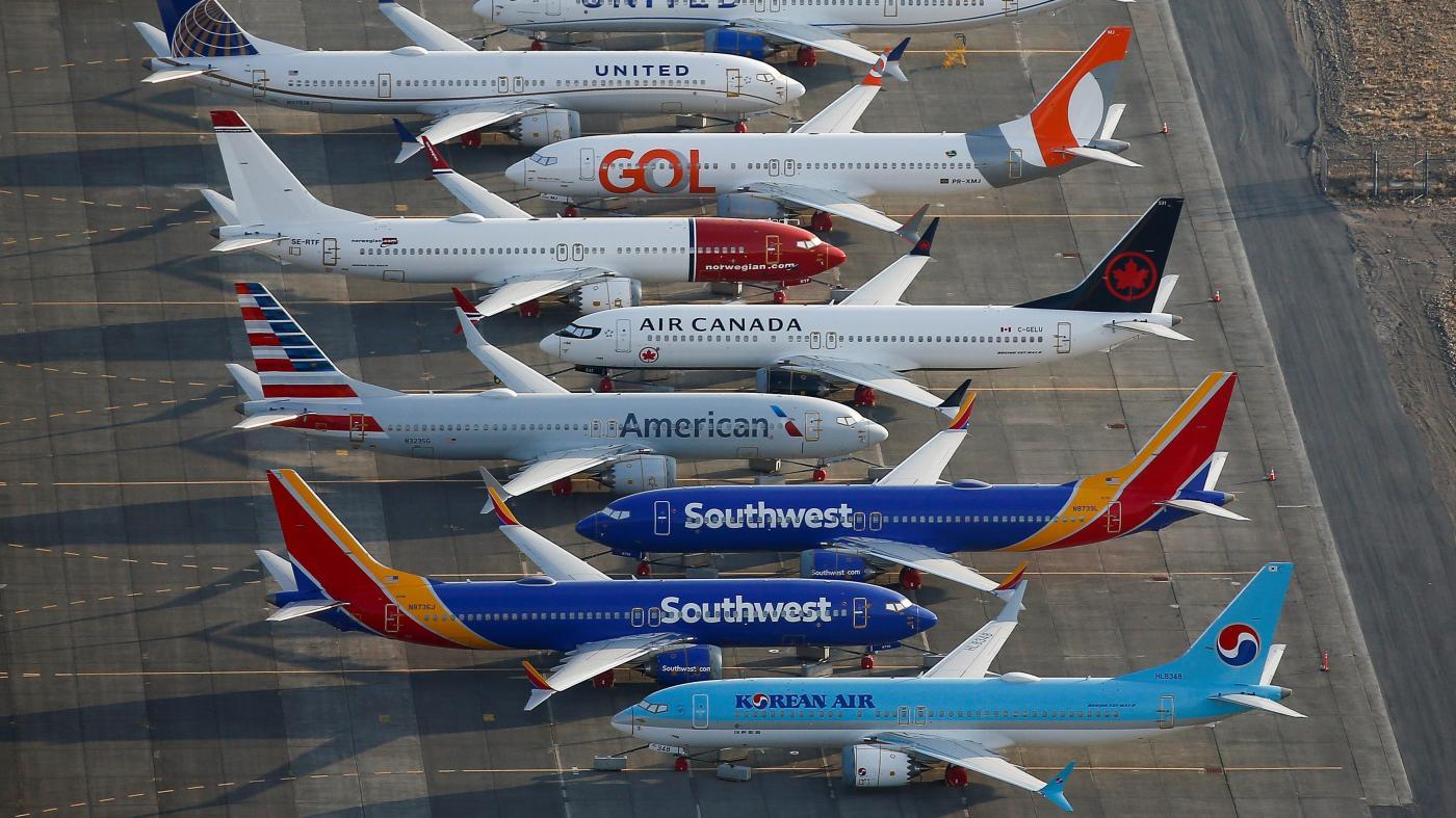"""Photo of Pilotos do sudoeste processam a Boeing por """"falsas representações"""" no 737 Max – Quartz"""