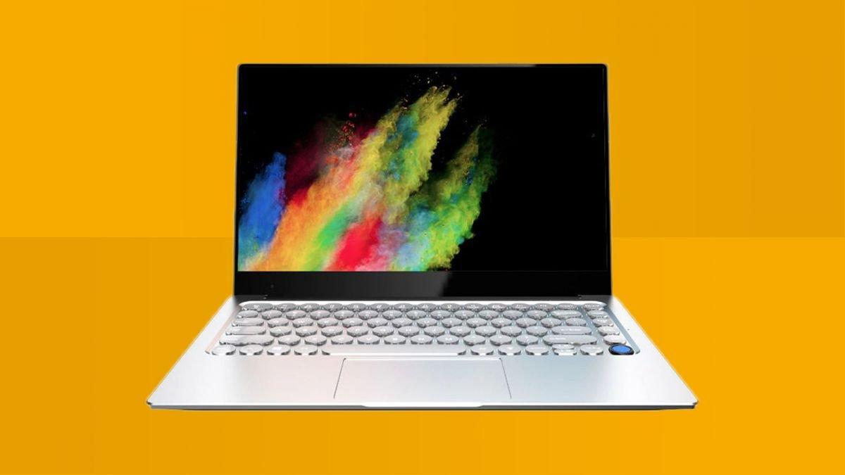 Photo of Este laptop possui um teclado único e estranho que dividirá as opiniões