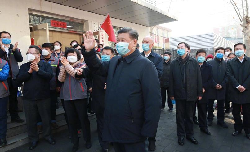 Photo of Xi Jinping aparece em público após uma longa ausência durante o coronavírus – quartzo