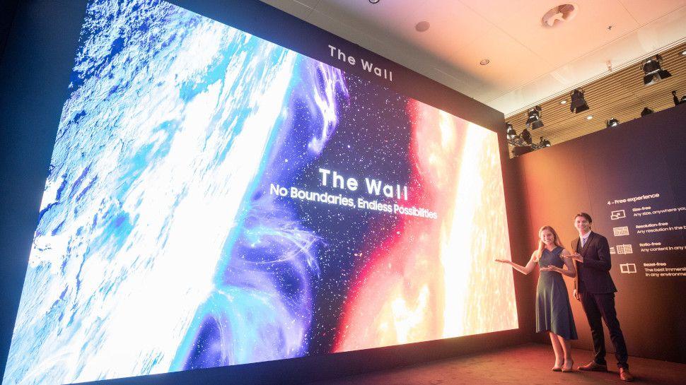 Photo of A maior tela de 8K do mundo não possui moldura