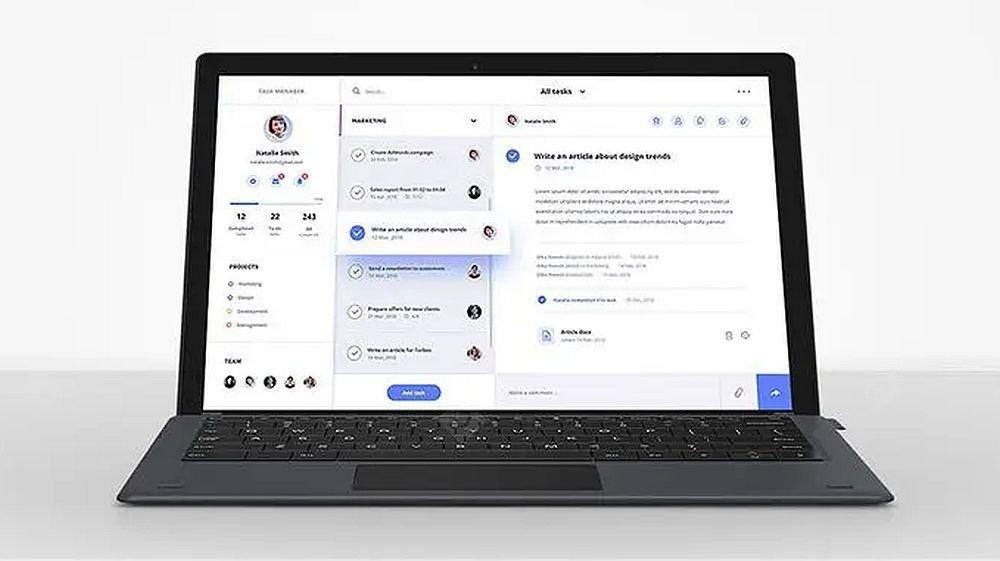 Foto de A melhor alternativa do Microsoft Surface Go agora é ideal para trabalhar remotamente