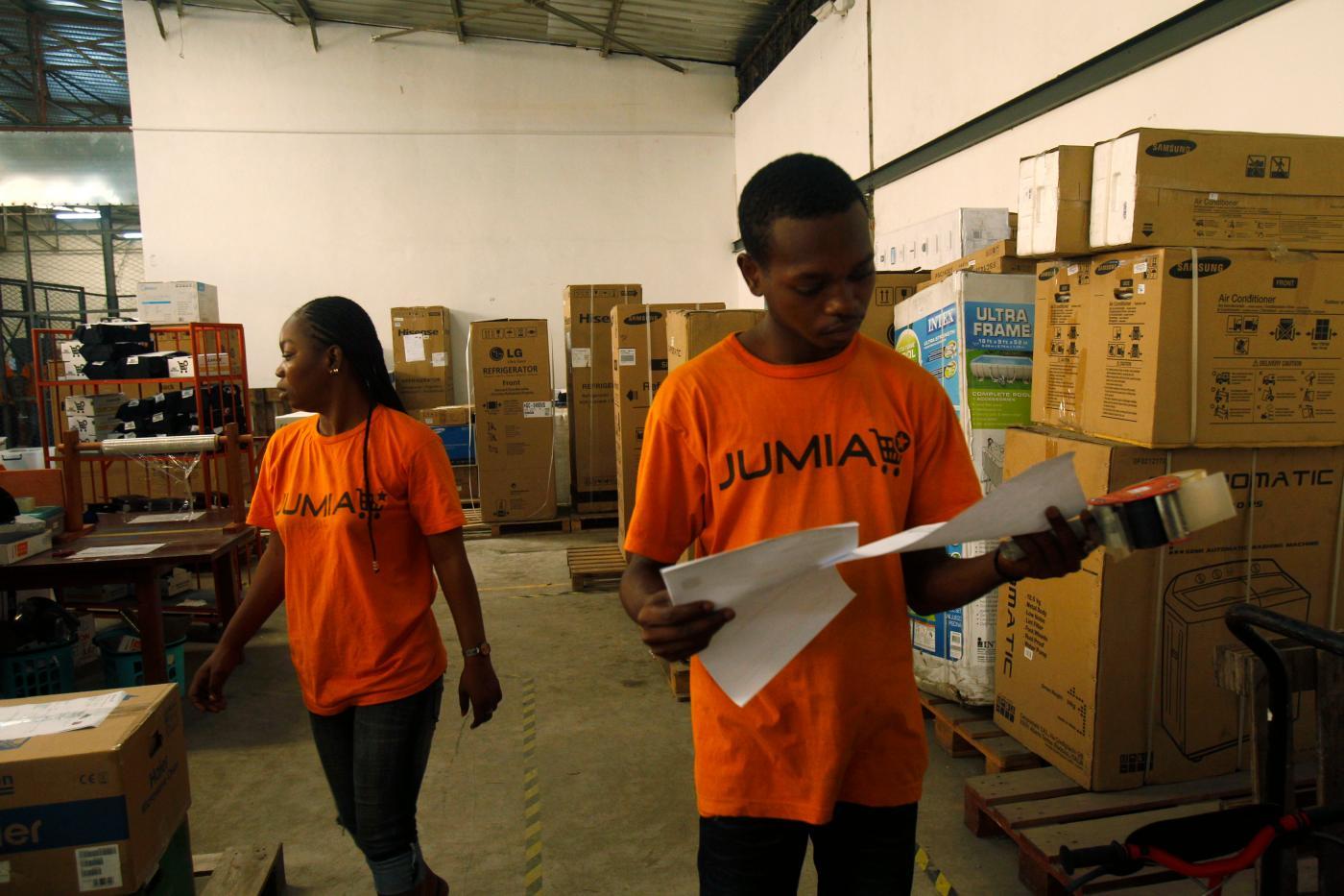 Foto de Jumia de comércio eletrônico africano em Tunis, Marrocos com Covid-19 – Quartz Africa