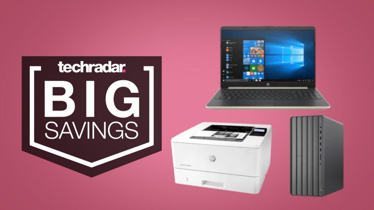 Foto de Venda de verão HP já disponível – economize até US $ 329 em um laptop, desktop ou impressora barato