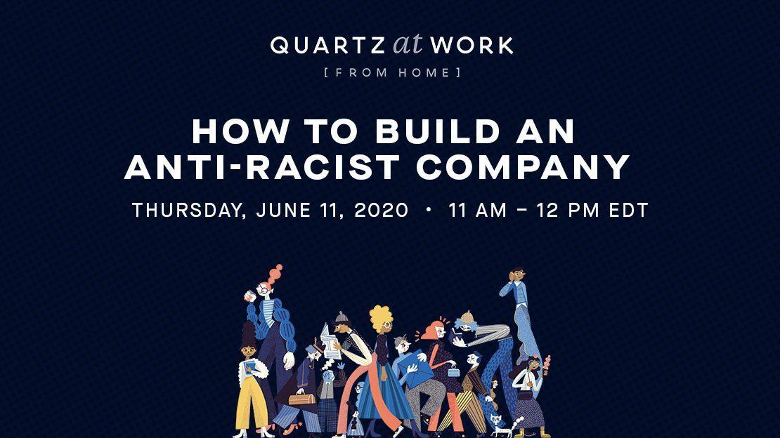 Foto de Nosso chamado para construir uma empresa anti-racista – Quartz at Work