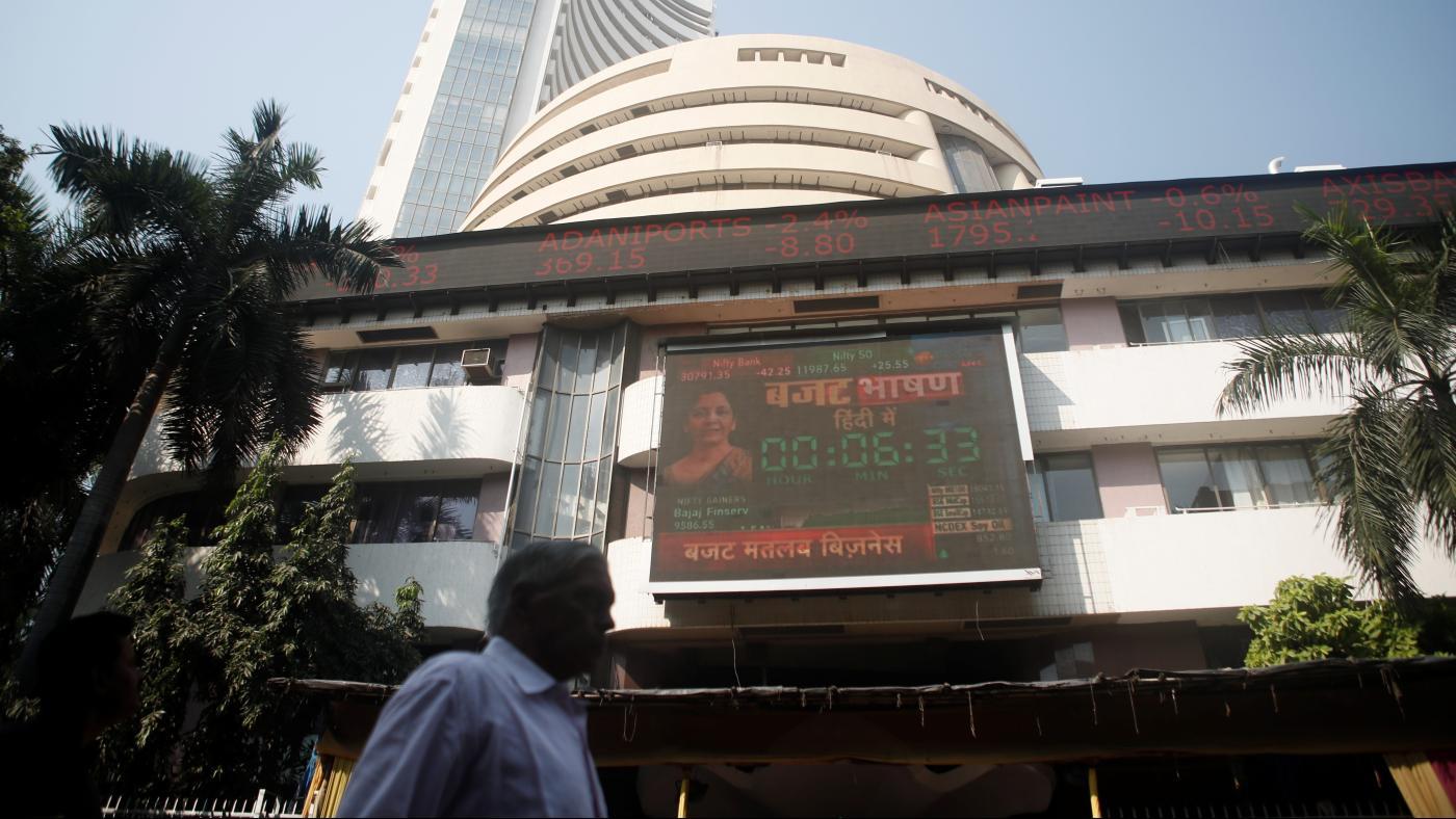 Foto de Sensex e Nifty em ascensão, mesmo quando a economia indiana manca – Quartz India