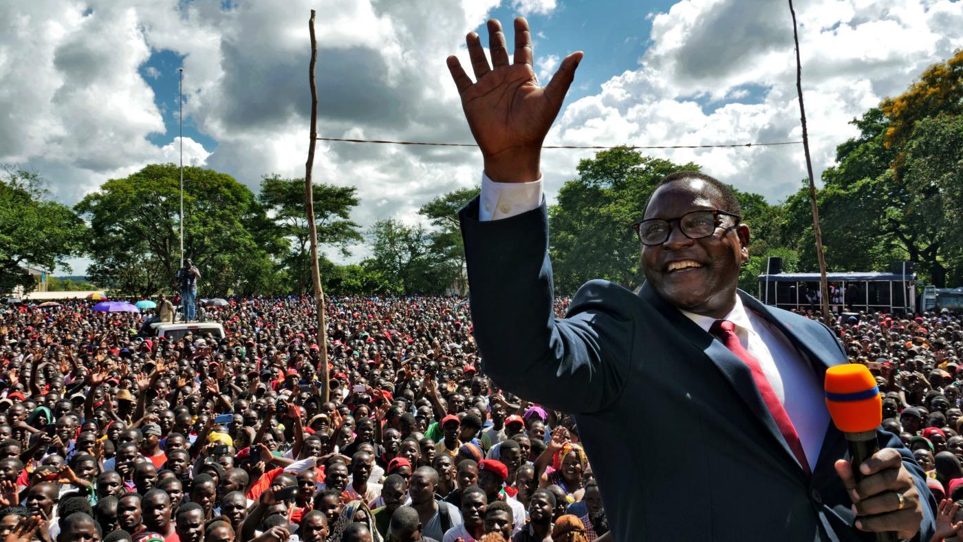 Foto de Lázaro Chakwera do Malawi vence eleição presidencial – Quartz Africa