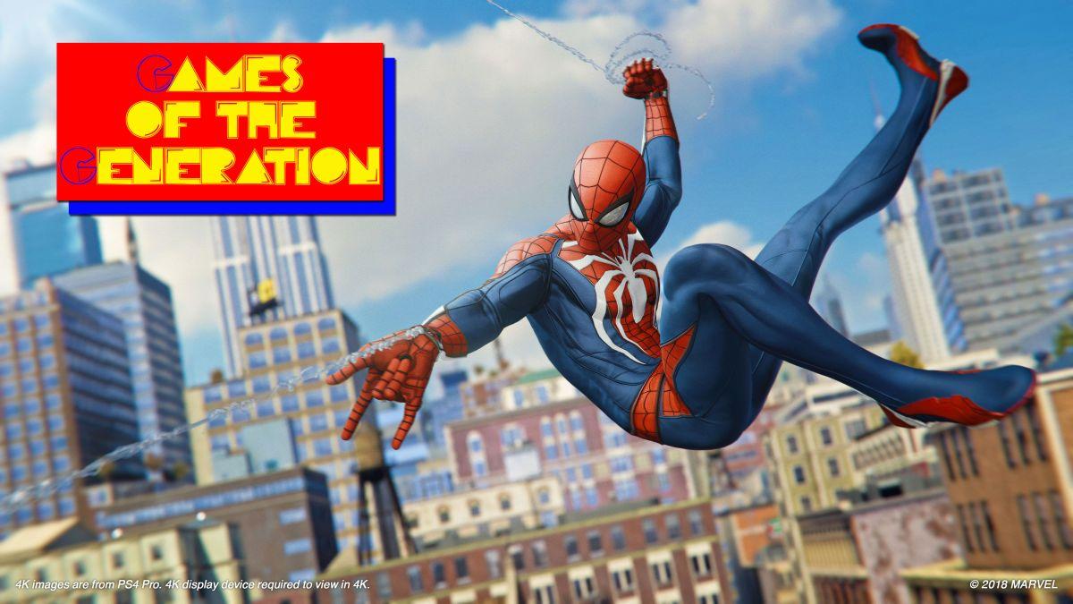 Foto de Games of the Generation: caos super-heróico coreografado do Homem-Aranha da Marvel para PS4