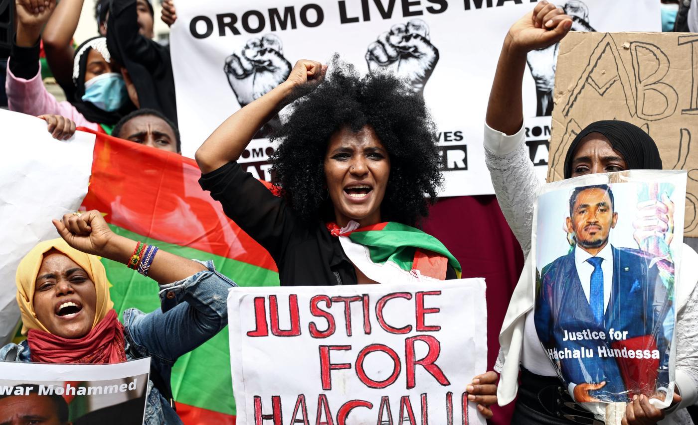 Foto de Etiópia: tensões na África causam violência por causa de Abiy – Quartz Africa