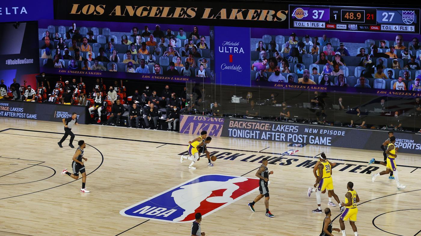 Foto de Como a NBA usa fãs virtuais para tornar os jogos normais – Quartz