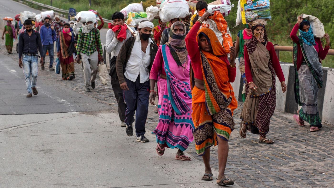 Foto de O fechamento da Covid-19 na Índia deslocou pelo menos 10 milhões de migrantes – Quartz India