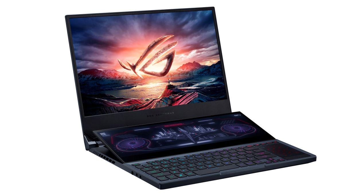 Foto de O Asus ROG Zephyrus Duo 15 Dual Screen Gaming Laptop, lançado na Índia