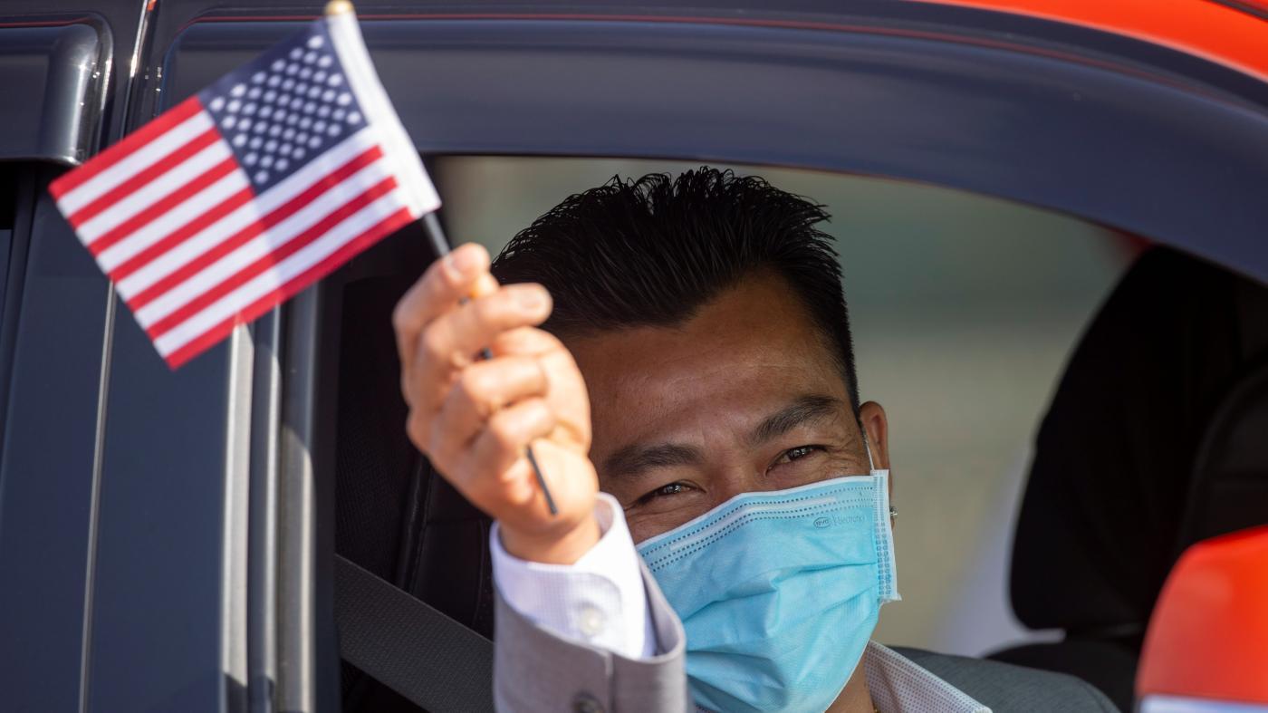 Foto de 10% dos eleitores americanos qualificados em novembro serão nascidos no exterior – Quartzo