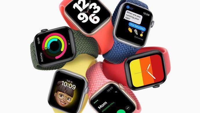 Foto de Preço e data de lançamento do Apple Watch SE UAE