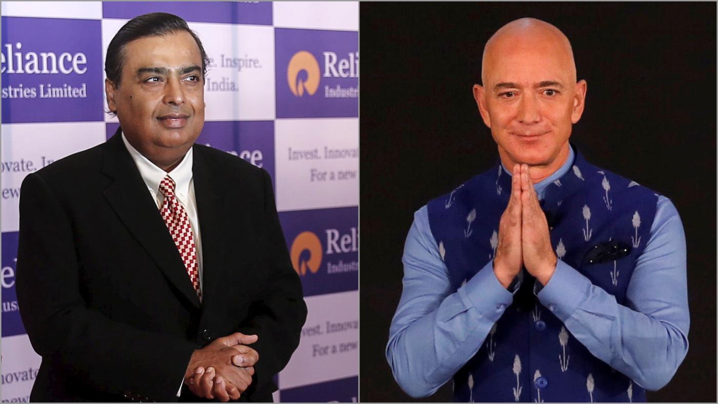 Foto de A confiança de Ambani, muito à frente da Amazônia de Bezos no varejo indiano – Quartz India