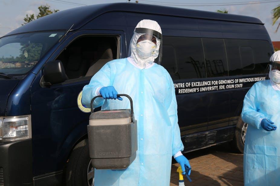 Foto de Cientistas nigerianos identificam sete linhagens de SARS-CoV-2 Covid – Quartz Africa
