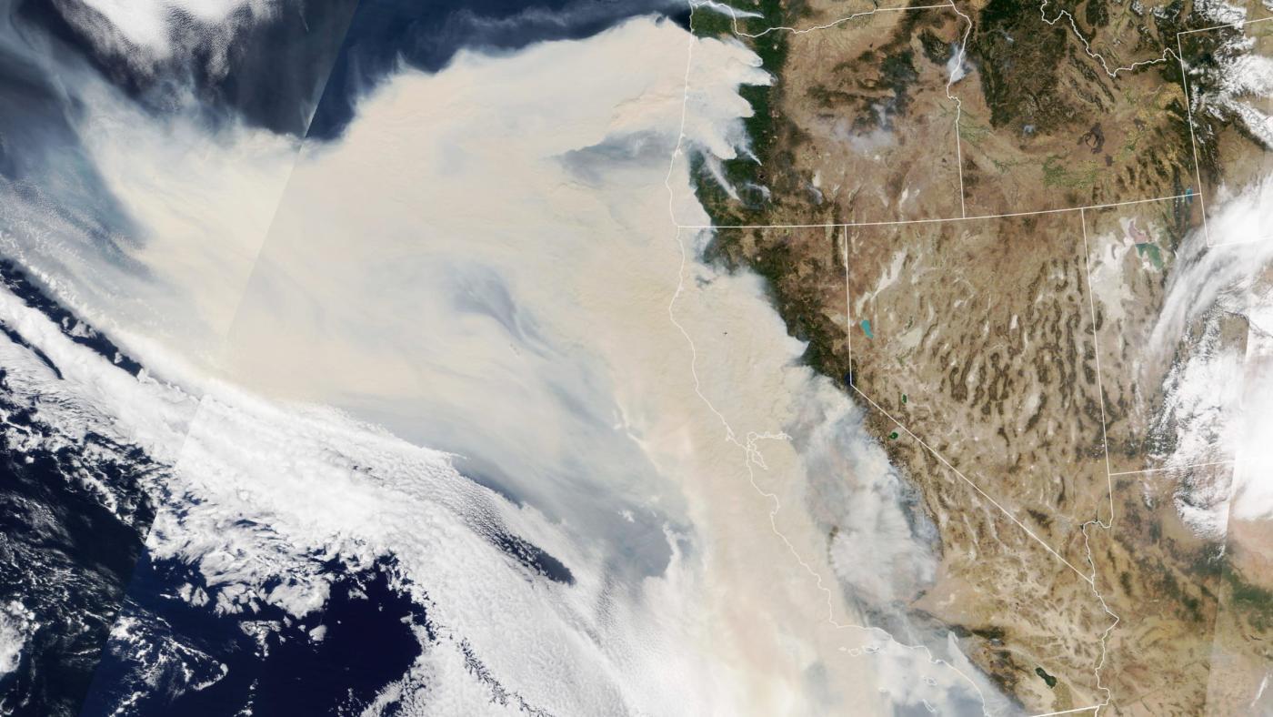 Foto de Incêndios florestais ocidentais estão produzindo quantidades recordes de CO2 – Quartzo