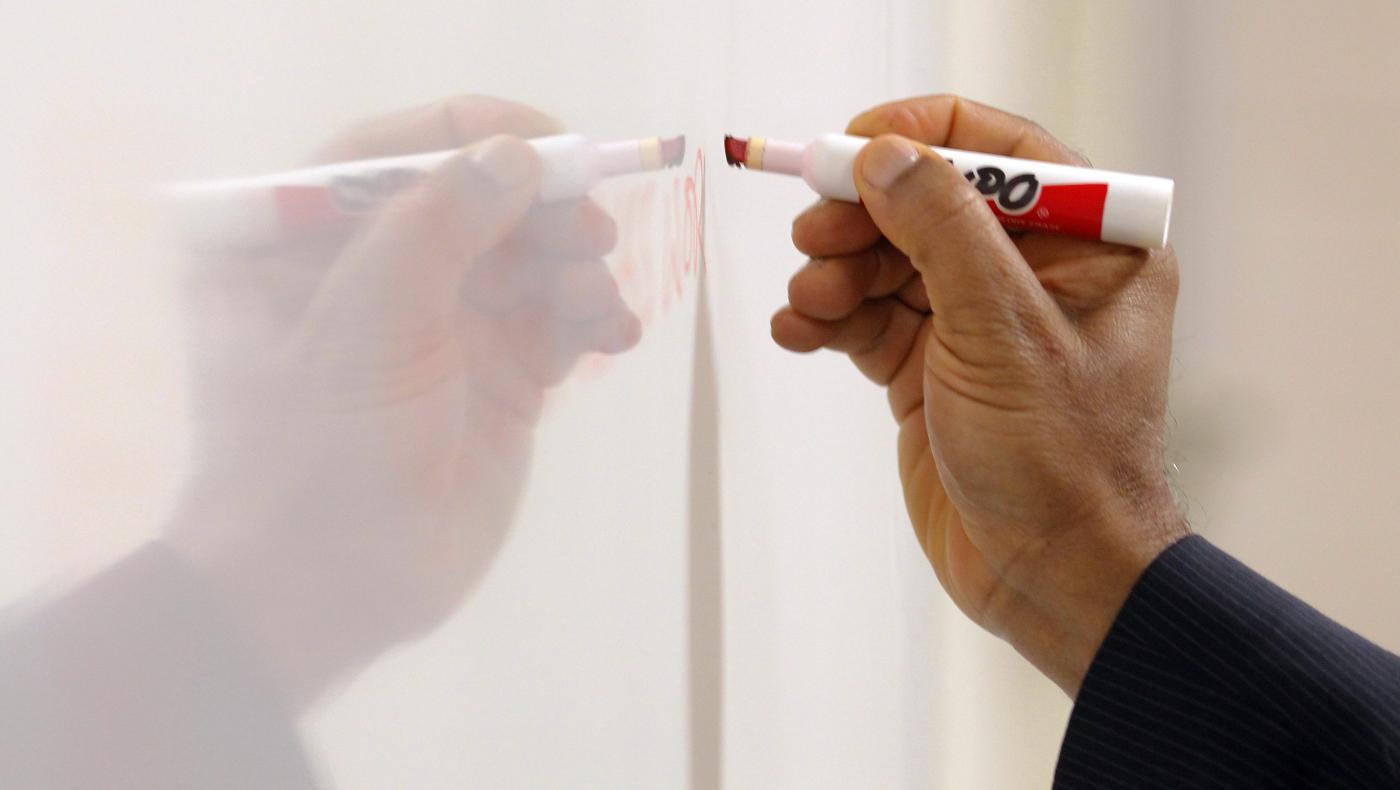 Foto de Os quadros brancos ajudam os consultores a ter ideias online – Quartz