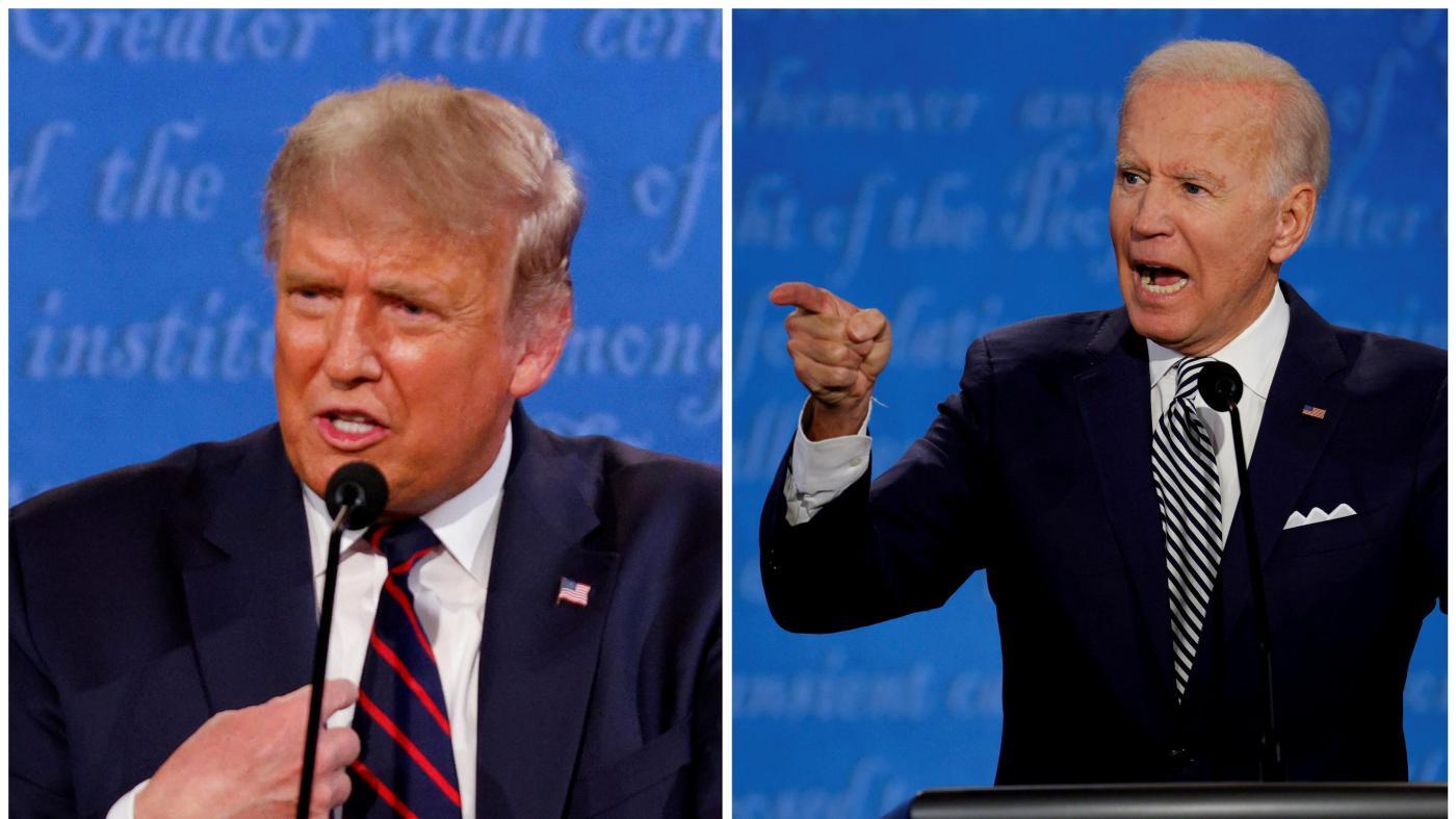 Foto de What would a Trump-Biden virtual presidential debate look like? — Quartz