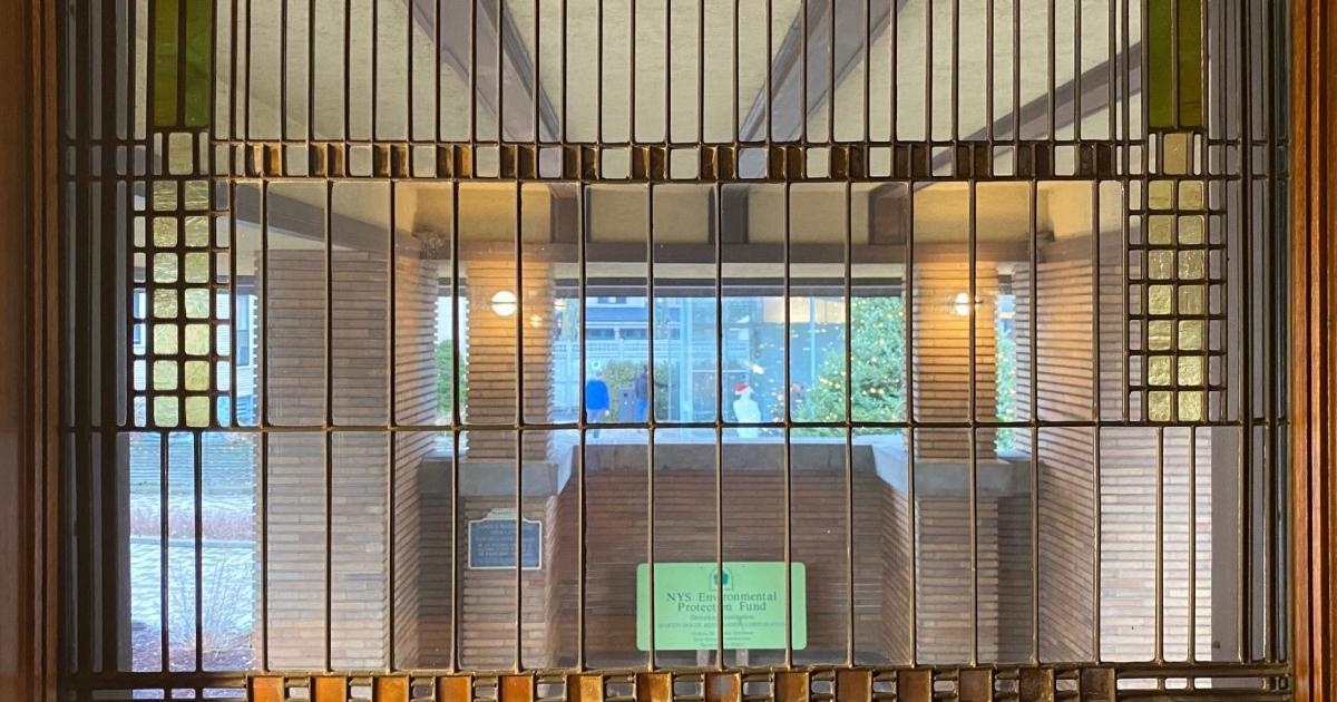 Foto de Como Frank Lloyd Wright projetou um escritório doméstico sem distrações – Quartz