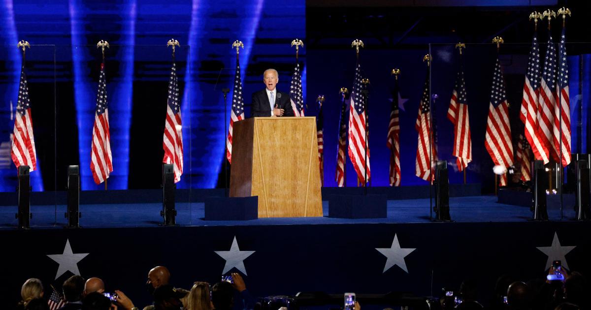 Foto de Leia o discurso de aceitação total de Joe Biden como presidente eleito – Quartz