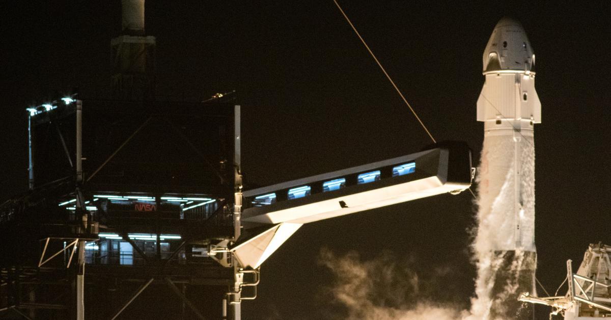 Foto de O que a história pode nos dizer sobre os astronautas voadores da SpaceX para a NASA – Quartz