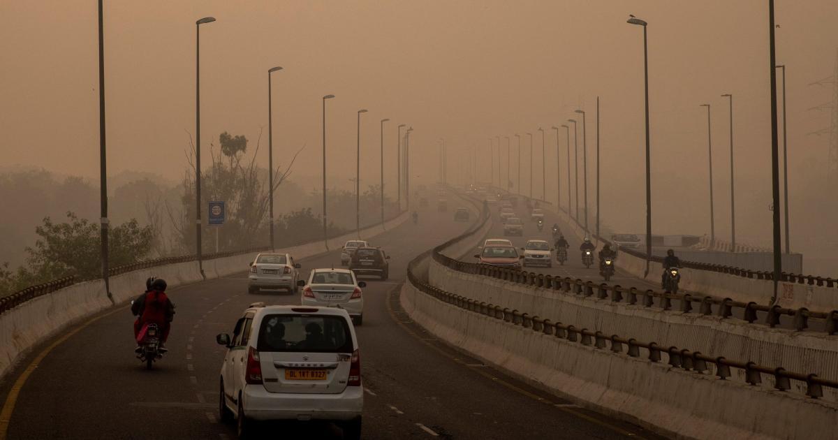 Foto de A qualidade do ar de Delhi é a pior do mundo depois de Diwali 2020 – Quartz