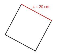 Foto de Perímetro quadrado