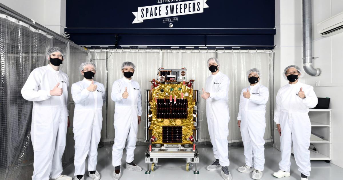 Foto de Robô caçador de lixo da Astroscale vem para o lixo espacial – Quartzo