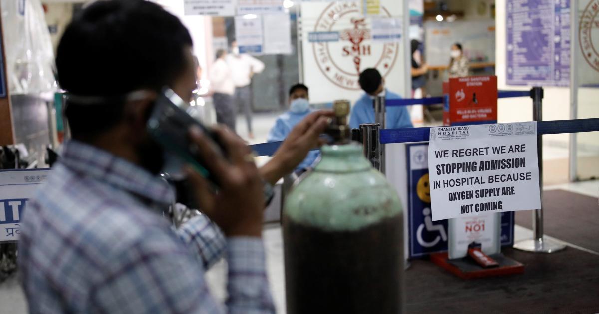 Foto de Hospitais e médicos indianos aderem ao Twitter Just For Oxygen: Quartz India