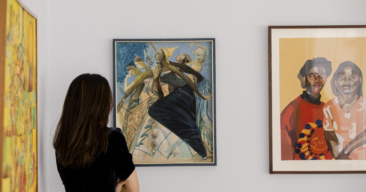 Foto de Colecionadores de arte locais, financiamento de doadores descolonizados, movimento no Twitter