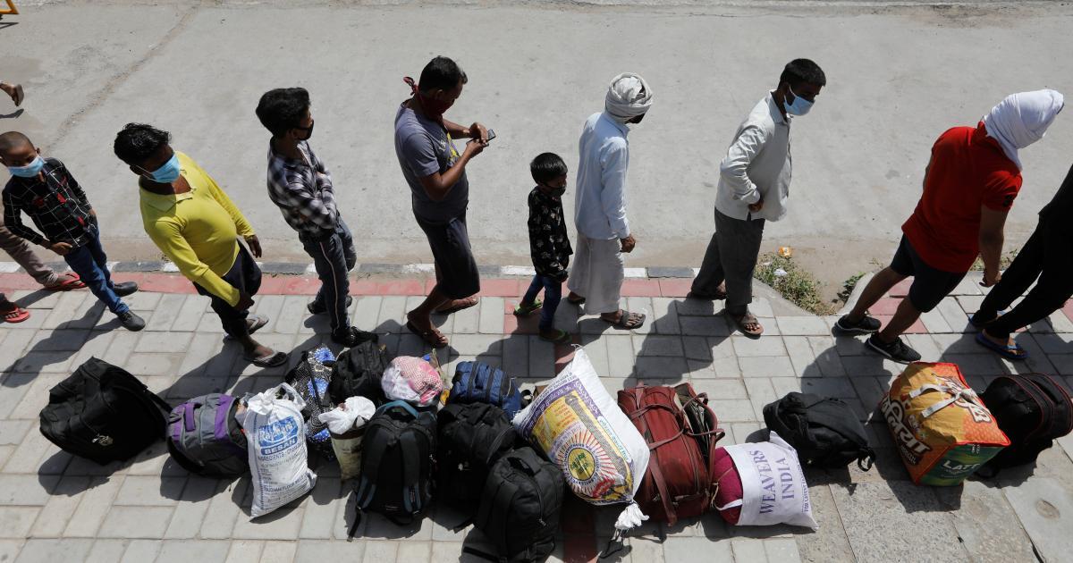 Foto de India must avert a migrant crisis during the second Covid-19 wave — Quartz India