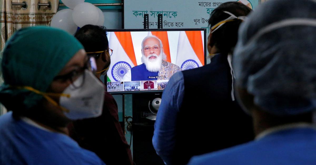 Foto de Editorial da Lancet culpa Modi por lidar mal com a crise da Covid na Índia – Quartz India