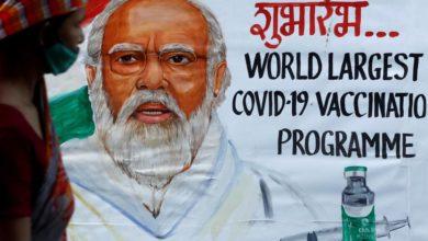 """Foto de Como a Índia projetou seu """"recorde"""" de vacinação de um dia Covid-19 – Quartz India"""