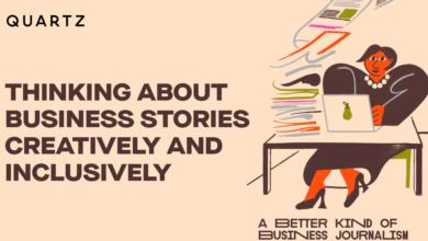 Foto de Como pensar sobre histórias de negócios de forma criativa e inclusiva – Quartz